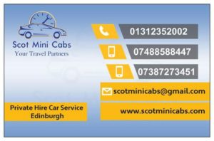 Airport Taxis Edinburgh